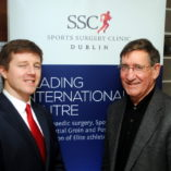 Colm Fuller, lead Musculoskeletal Physiotherapist, SSC with Dr Damian Jennings, Donaghmeade, Dublin 13