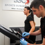 Lactate threshold testing at Sports Surgery Clinic