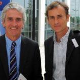 Mr Ray Moran Medical Director SSC; Dr Luis Serratosa Physician Real Madrid FC.