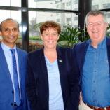 Dr Kathir Tamilmani, Emer Agnew, Mr Cliff Beirne.